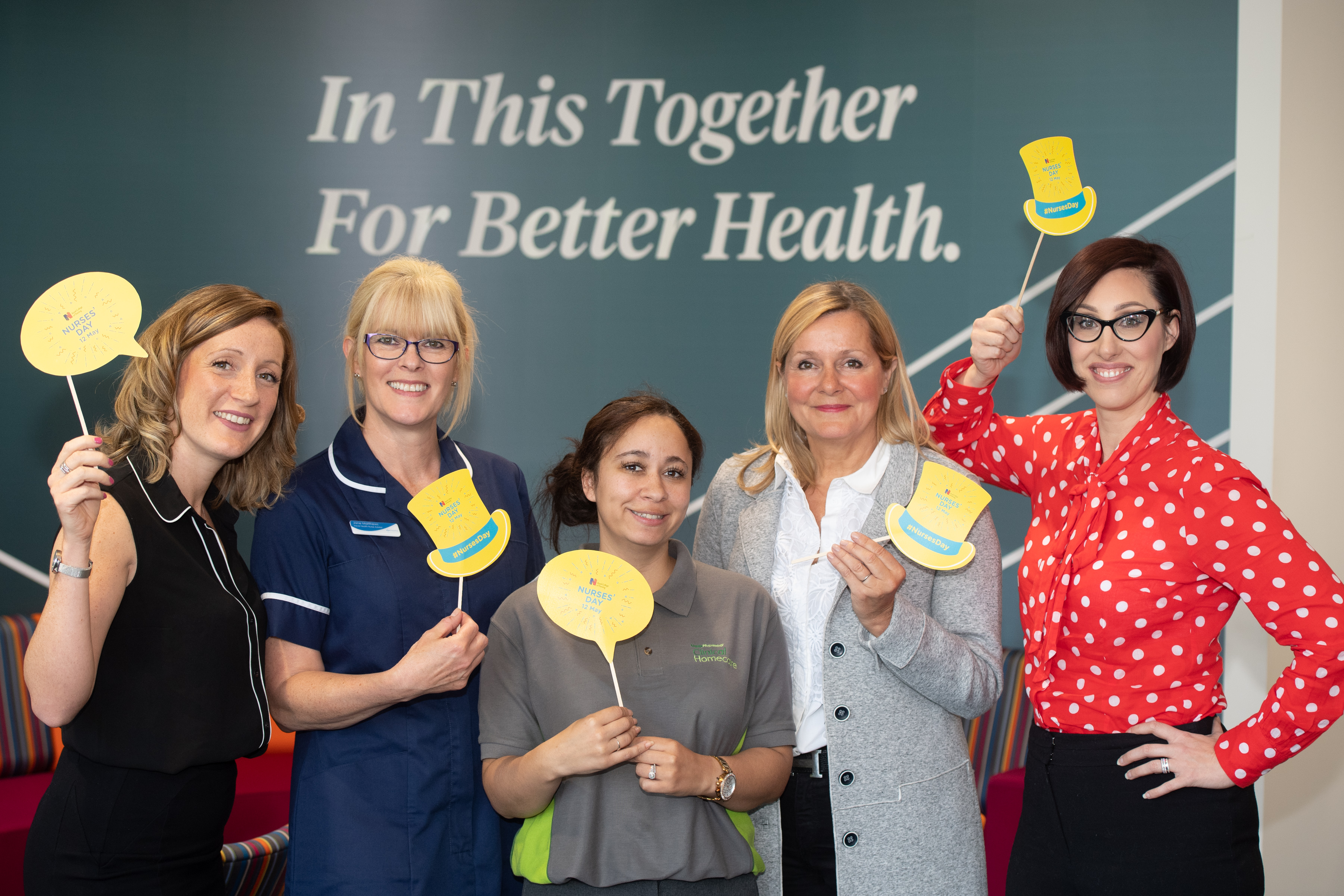 McKesson UK marks International Nurses' Day with a special employee event