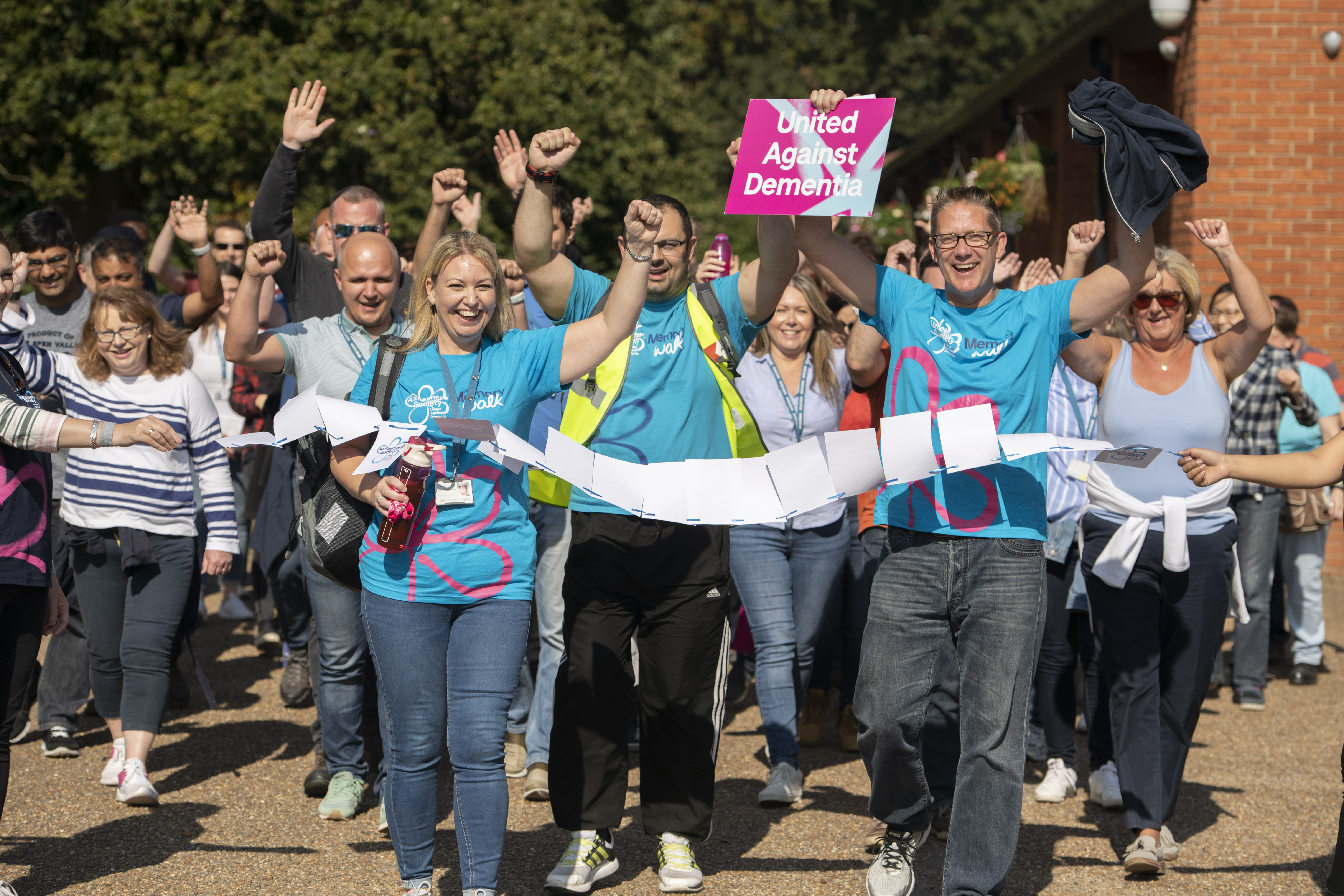 McKesson UK colleagues raise vital funds to support people living with dementia