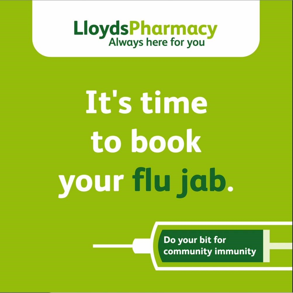 """LloydsPharmacy launches 'community immunity' campaign to help support """"biggest flu vaccination programme in history"""""""